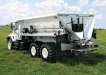 New Leader Multibin Spreader