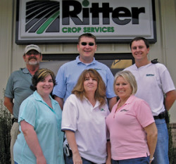 Ritter Crop Services team