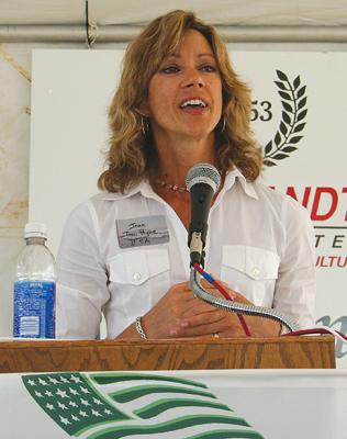Illinois Fertilizer & Chemical Association's Jean Payne.</p