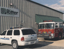 Ritter Crop Services, fire department