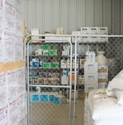Chemical And Seed Storage