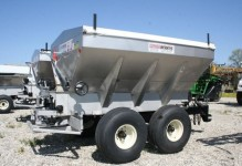 HLS-8 304 stainless steel Hydraulic Lime/Fertilizer Spreader, Adams