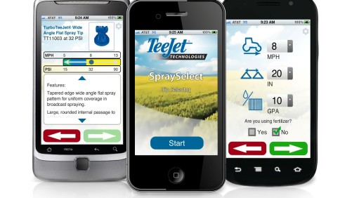 TeeJet SpraySelect App