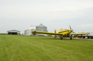 Aerial Application Plane