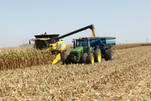 Growers harvest using Kinze's revolutionary Kinze Autonomy system.