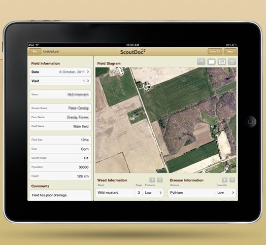 ScoutDoc Field Scouting App Adds GPS Mapping