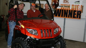 Sales Agronomist Wins ATV From H.J. Baker's Tiger-Sul Products