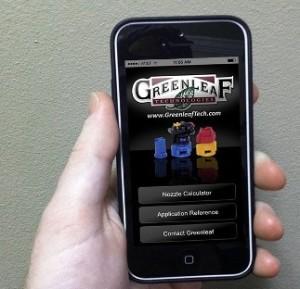 Greenleaf NozzleCalc App