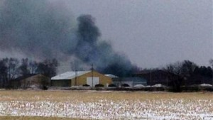 Explosion Reported At Iowa Fertilizer Plant, Town Evacuated