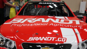 BRANDT Car Makes NASCAR Xfinity Series