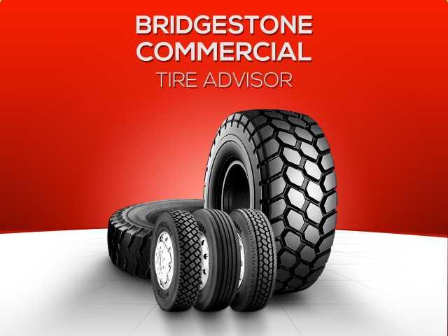 Bridgestone Commercial Solutions Creates Tire Advisor Mobile App