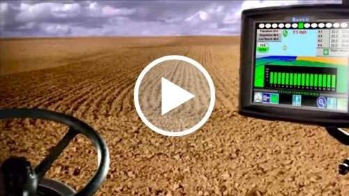 Kinze Concept planter video screen capture