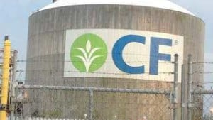 CF Industries Resumes Production At Oklahoma Nitrogen Complex
