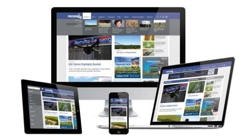 PrecisionAg New Website