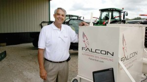 Allan Baucom of A.L. Baucom Family Farms in North Carolina, spoke at InfoAg 2014 about several ways VRT is being utilized profitably in his operation.