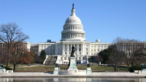 United States Capitol Building in Washington D.C.