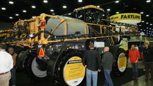 AGCO RG700 at the 2015 National Farm Machinery Show