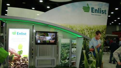 Showcasing its newly approved Enlist technology, Dow AgroSciences was one of many crop input companies that displayed their latest offerings in seed, crop protection products and more at the 2015 National Farm Machinery Show.