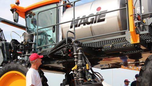 Hagie, Farm Progress 2013