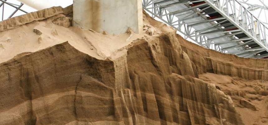 Potash storage at Growmark