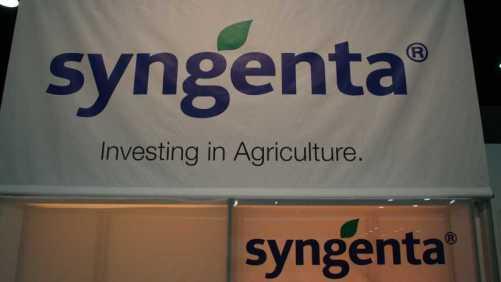 Syngenta sign