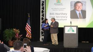 Iowa Ag Secretary Northey Names Hagie Water Quality Leader