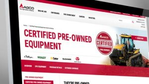 New AGCO Website Helps Customers Shop For Certified Pre-Owned Ag Equipment