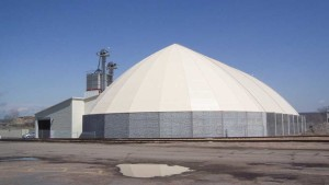 Kinder Morgan Expands Its Storage With A New Dome Barrel Structure