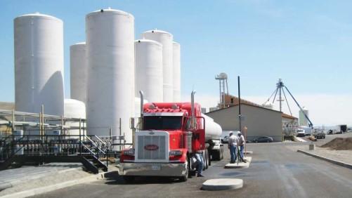 The McGregor Co. fertilizer loadout