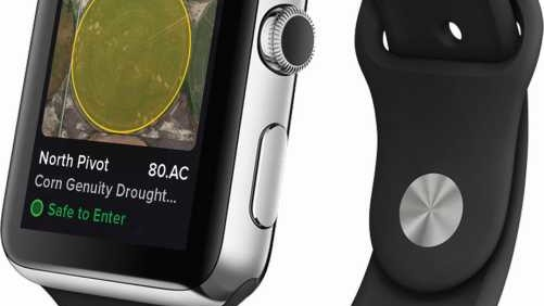 Agworld Apple Watch Farm Management