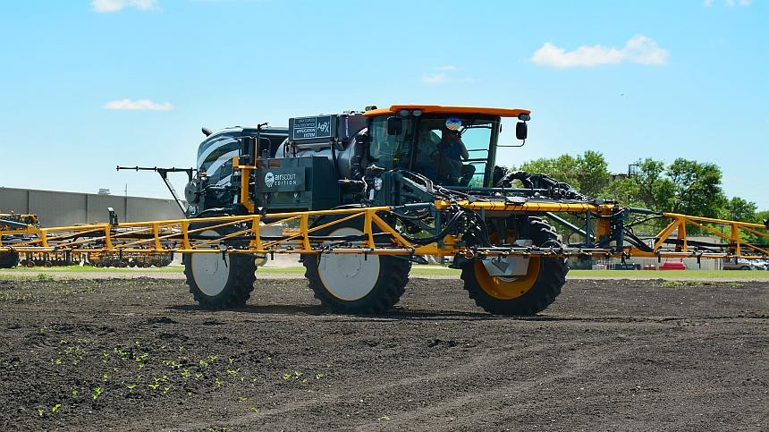 New Hagie STS Sprayer Features AirScout Precision Package