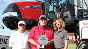 A ShowStopper From Case IH: The Patriot 2250