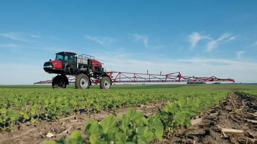 High-powered Case IH Patriot 2250 Sprayer Pushes Through The Toughest Field Conditions