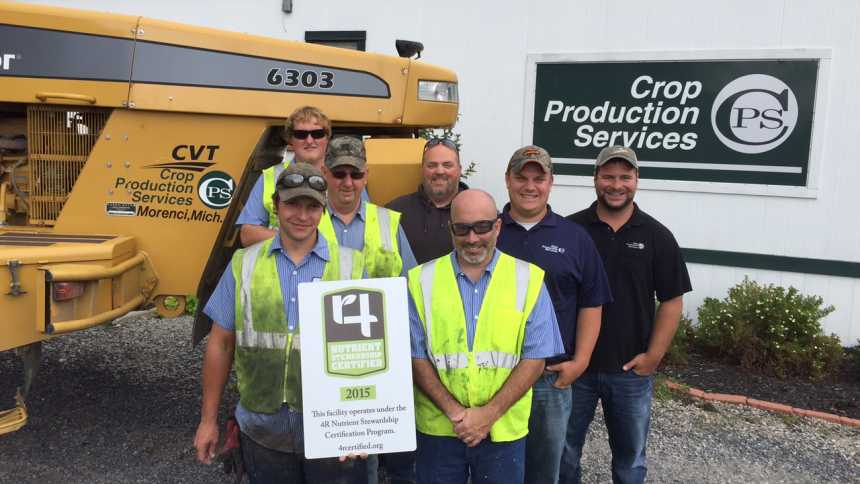 CPS Morenci receiving its 4R certification
