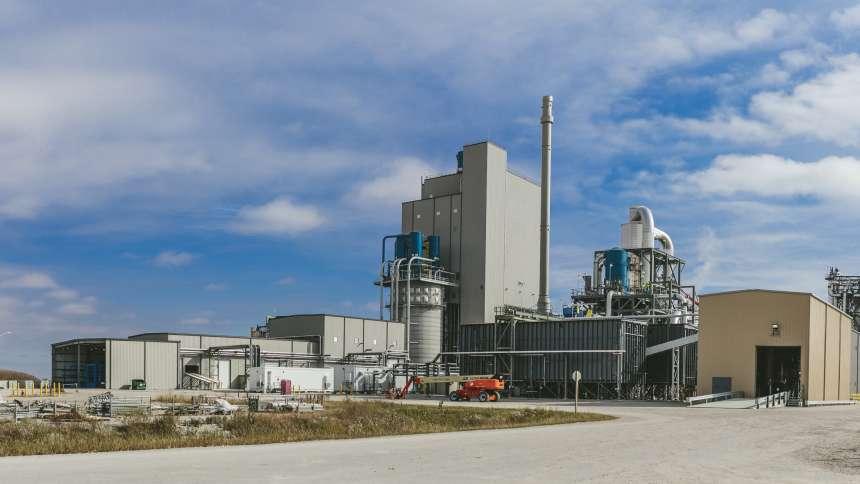 DuPont-Cellolisic Ethanol Plant in Nevada Iowa-Plant
