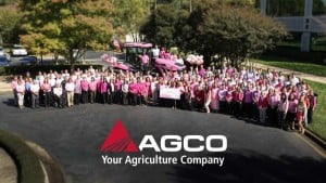 AGCO Goes Pink For Breast Cancer Awareness