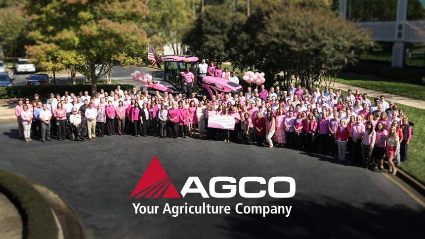 Pink Tractor AGCO