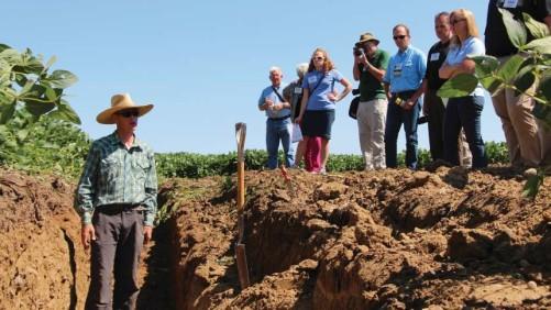 Soil pit on Legvold's Farm