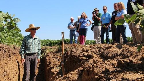 CTIC Soil Pit Cover Crops