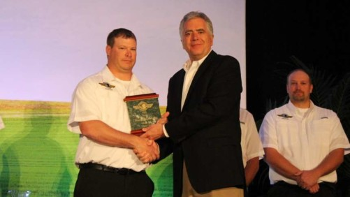 Brian Manolovits AGCO Operator of the Year
