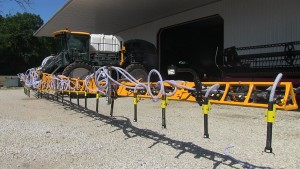 Hagie Launches New Sprayer Commodity Delivery System