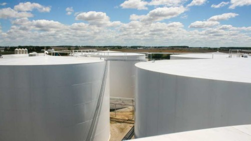 Liquid Fertilizer Storage tanks