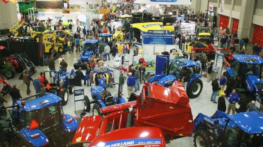National Farm Machinery Show Brings Thousands To The Kentucky Exposition Center