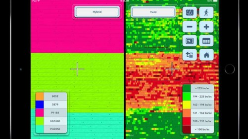 Climate FieldView Plus on iPad