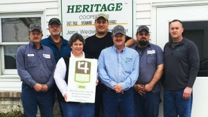 Heritage Cooperative Facilities Become Certified In 4R Nutrient Stewardship