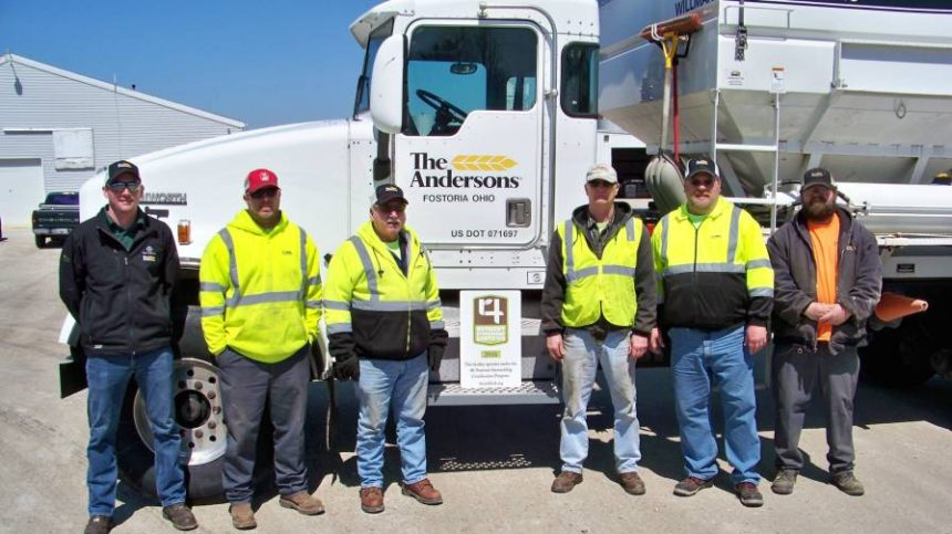 The Andersons Facilities In Fostoria And Gibsonburg, OH Certified In 4R Nutrient Stewardship