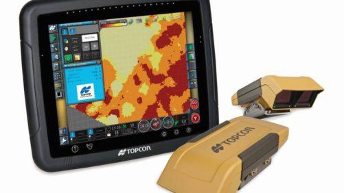 Topcon's X30 display with CropSpec sensors