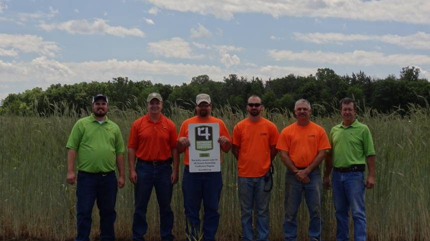 First Indiana Facility Certified Under 4R Nutrient Stewardship Certification Program