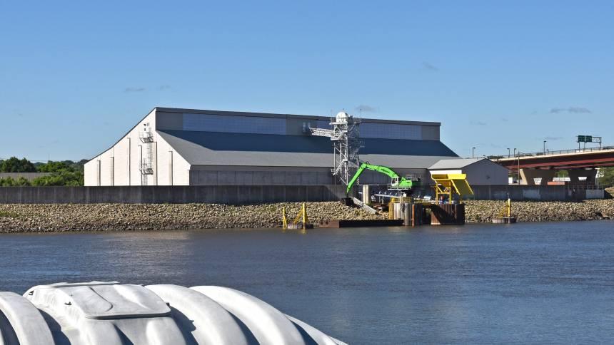 CHS St. Paul, MN fertilizer terminal