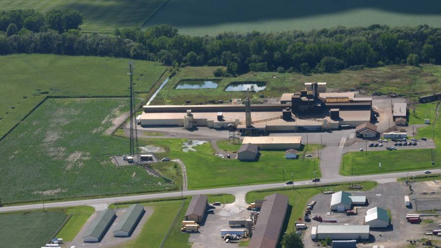 Aerial Photo of Advanced Micronutrient Products in Reese MI